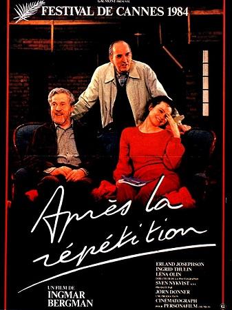 Provadan Sonra filmi. Ingmar Bergman, Erland Josephson ve Lena Olin