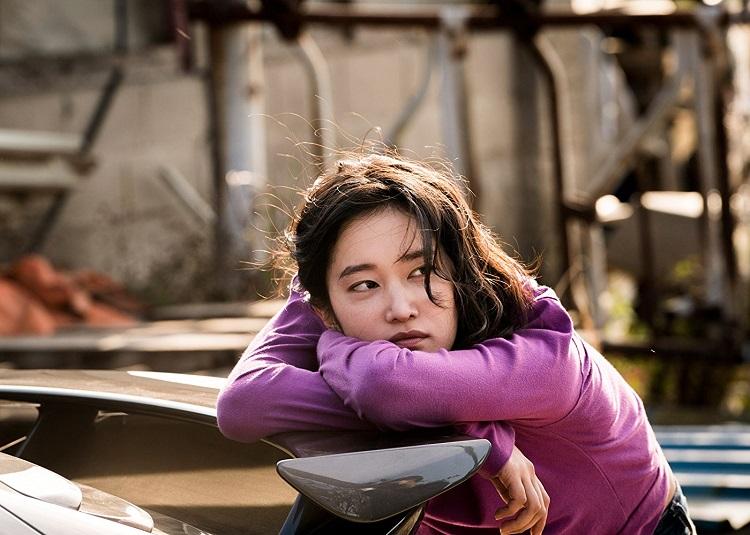 Şüphe filminden bir karede Haemi (Jong-seo Jeon)