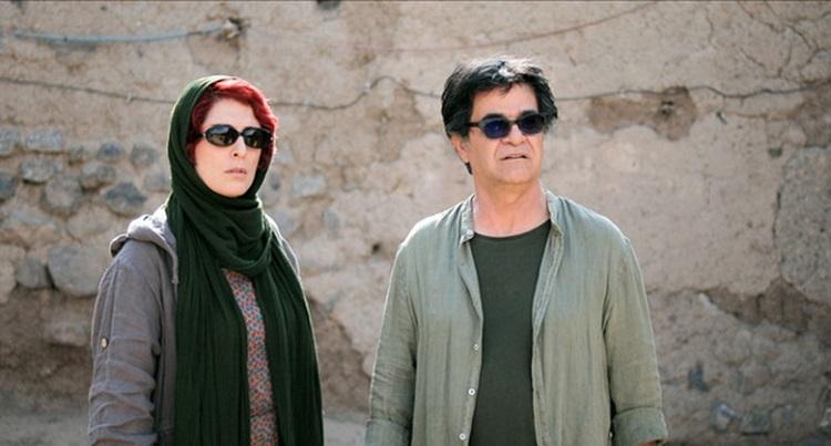 Üç Hayat filminde Behnaz Jafari ve Jafar Panahi